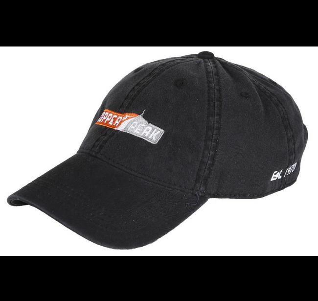 Black Logo d Baseball Cap - Copper Peak - Ski flying and ski jumping ... f28991fc2d6